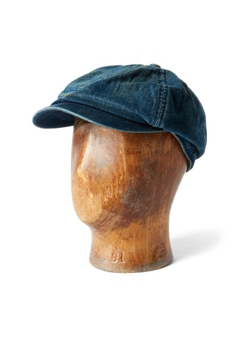 Ralph Lauren Denim Newsboy Cap  7e10d864e72