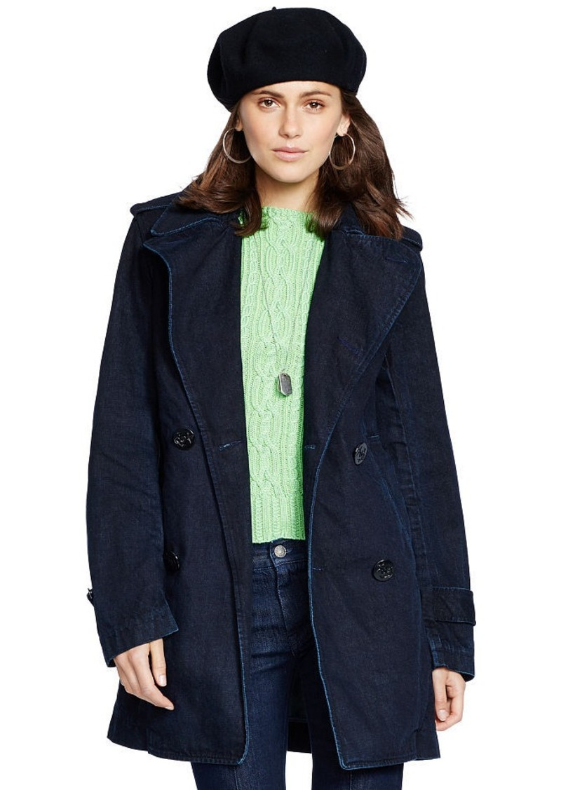 Ralph Lauren Denim Pea Coat