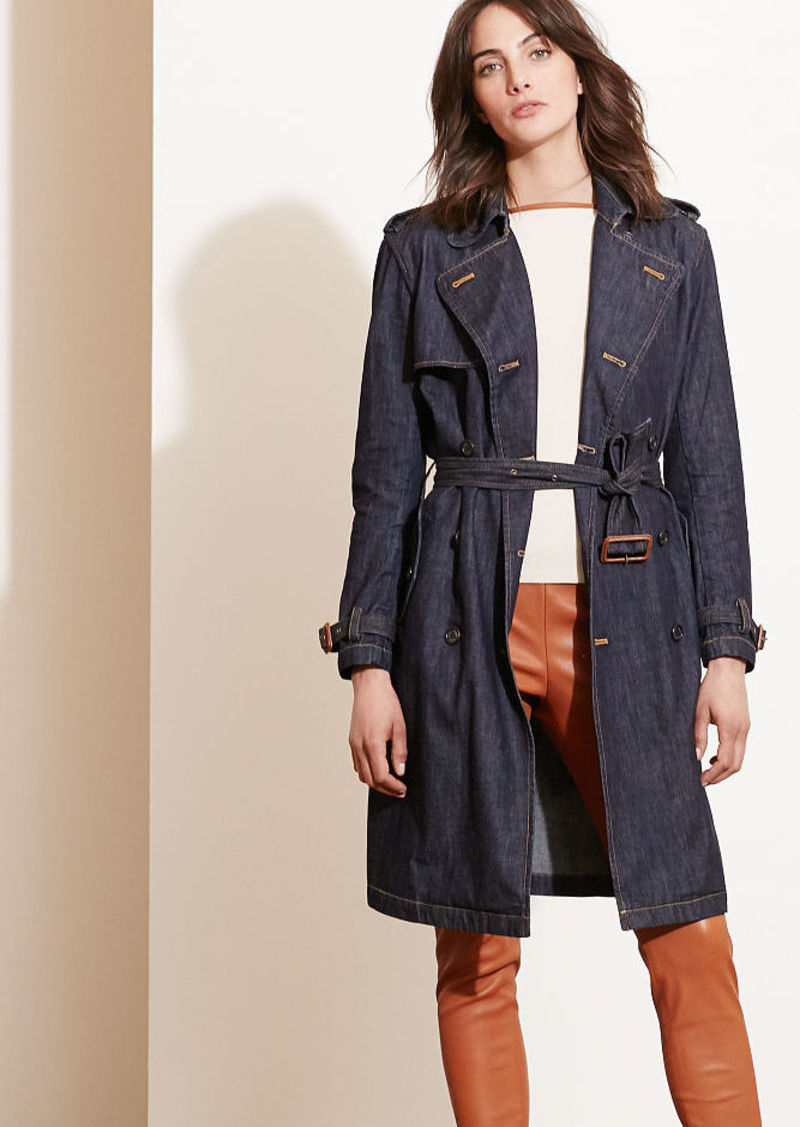 Ralph Lauren Denim Trench Coat