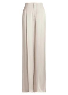 Ralph Lauren Diane Satin Wide-Leg Pants