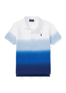Ralph Lauren Dip Dye Short-Sleeve Knit Polo  Size 2-4