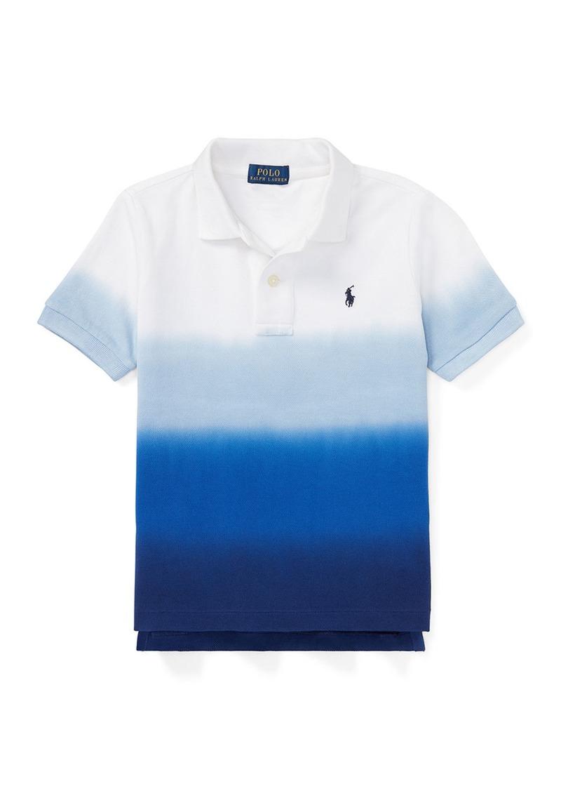 Ralph Lauren Dip Dye Short-Sleeve Knit Polo