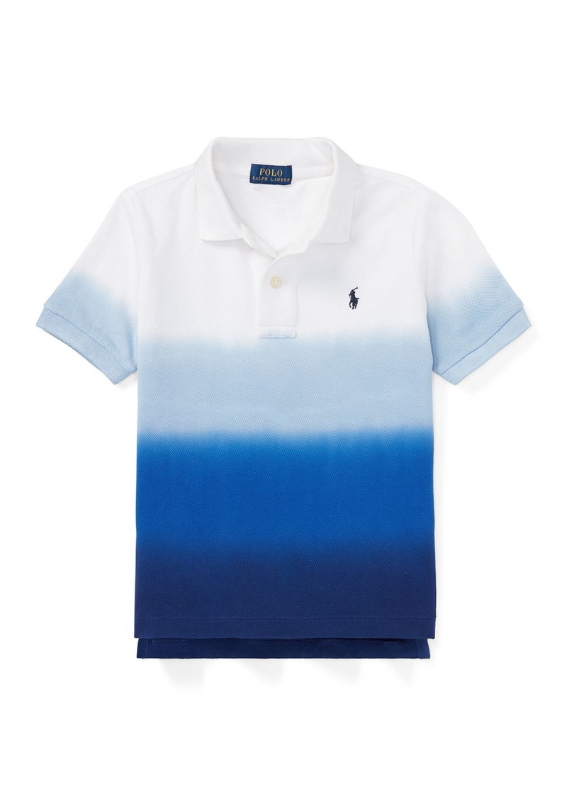 Ralph Lauren Dip-Dye Short-Sleeve Polo