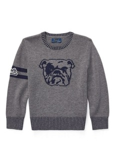 Ralph Lauren Dog Merino-Cotton Sweater