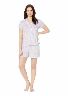 Ralph Lauren Dolman Notch Collar Boxer Pajama Set