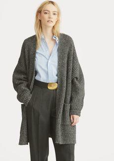 Ralph Lauren Donegal Wool-Cashmere Cardigan