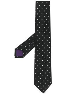 Ralph Lauren dot print neck tie
