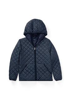 Ralph Lauren Polka-Dot Quilted Jacket