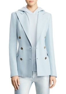 Ralph Lauren Double-Breasted Goldtone Button Blazer