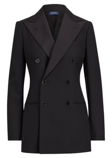 Ralph Lauren Double-Breasted Wool Blazer