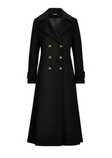 Ralph Lauren Double-Breasted Wool Coat