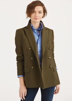 Ralph Lauren Double-Breasted Wool Jacket