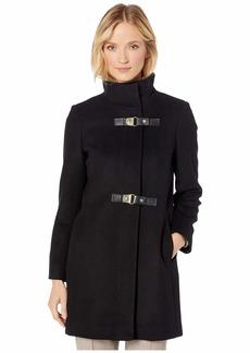Ralph Lauren Double Buckle Wool Coat