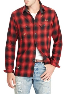 Ralph Lauren Double-Faced Compass Workshirt