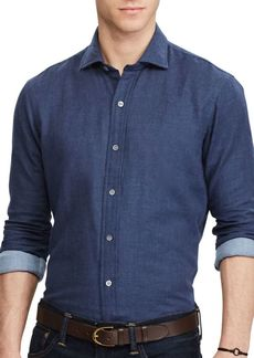 Ralph Lauren Double-Faced Cotton Button-Down Shirt