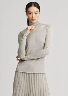 Ralph Lauren Double-Faced Turtleneck