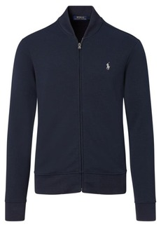 Ralph Lauren Double-Knit Bomber Jacket