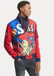 Ralph Lauren Double-Knit Down Jacket
