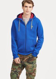 Ralph Lauren Double-Knit Full-Zip Hoodie