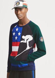 Ralph Lauren Double-Knit Graphic Sweatshirt