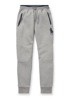 Ralph Lauren Double-Knit Pull-On Pant