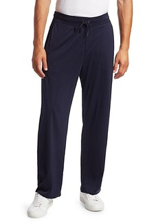 Ralph Lauren Double-Layer Cotton Spa Pants