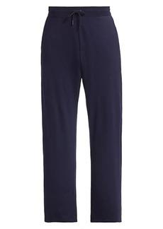 Ralph Lauren Double-Layer Cotton Spa Pants