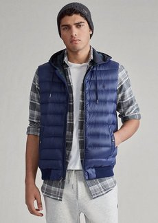 Ralph Lauren Down Hooded Vest