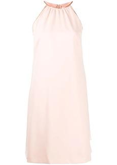 Ralph Lauren draped panel mini dress