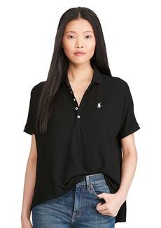 Ralph Lauren Poncho Mesh Polo Shirt