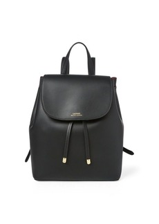 Ralph Lauren Drawstring Leather Backpack