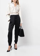 Ralph Lauren drawstring straight trousers