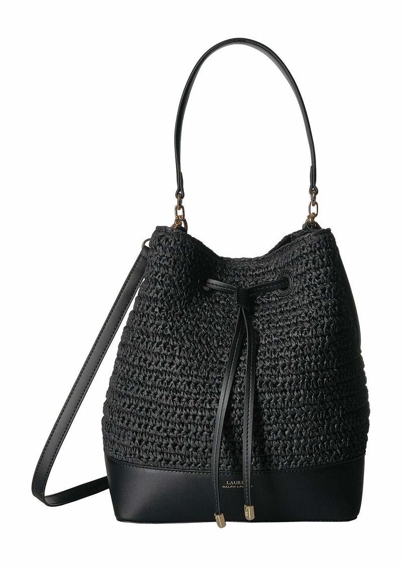 f4b76c06df Ralph Lauren Dryden Crochet Straw Debby Drawstring | Handbags