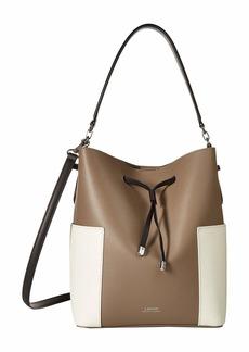 0aba4ef9b52d Ralph Lauren Lauren Ralph Lauren Ludwick Viana Leather Messenger Bag ...