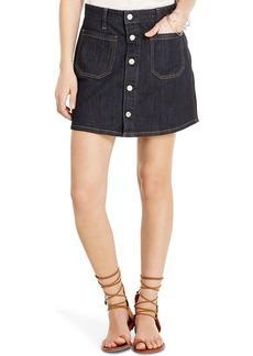 D&S Tilden Button-Front Skirt