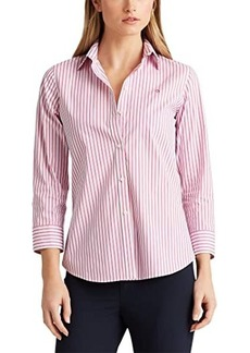 Ralph Lauren Easy Care Striped Cotton Shirt