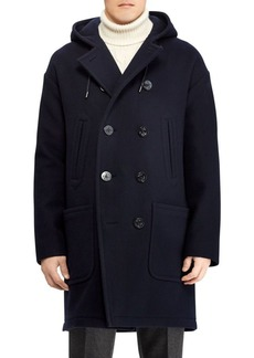 Ralph Lauren Edale Boiled Wool-Cashmere Peacoat