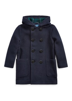 Ralph Lauren Edale Double-Breasted Wool Peacoat  Size 2-4