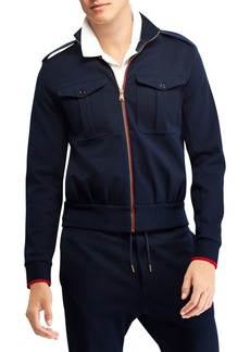Ralph Lauren Eisenhower Double-Faced Cotton-Blend Jacket