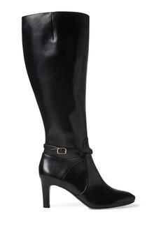 Ralph Lauren Elberta Leather Boot
