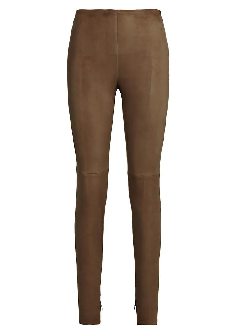 Ralph Lauren Eleanora Suede Pants