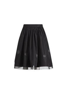 Elizabeth Silk A-Line Skirt