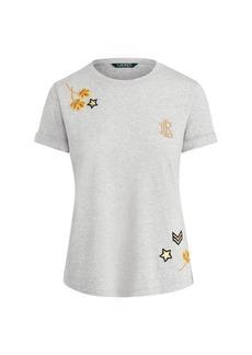 Ralph Lauren Embellished Jersey T-Shirt
