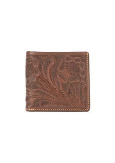 Ralph Lauren embossed floral wallet