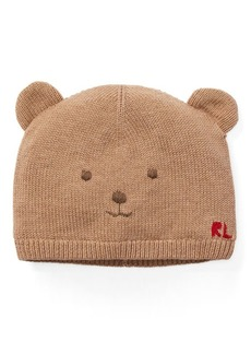 Ralph Lauren Embroidered Bear Hat