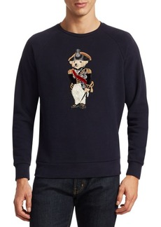 Ralph Lauren Embroidered Bear Wool Sweatshirt