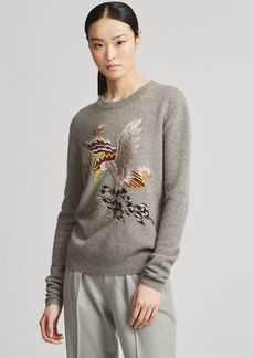 Ralph Lauren Embroidered Cashmere Sweater