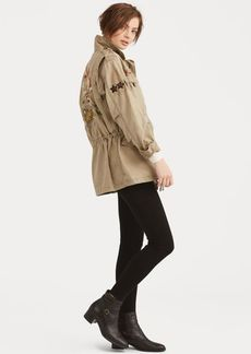 Ralph Lauren Embroidered Combat Jacket