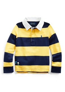 Ralph Lauren Embroidered Cotton Rugby