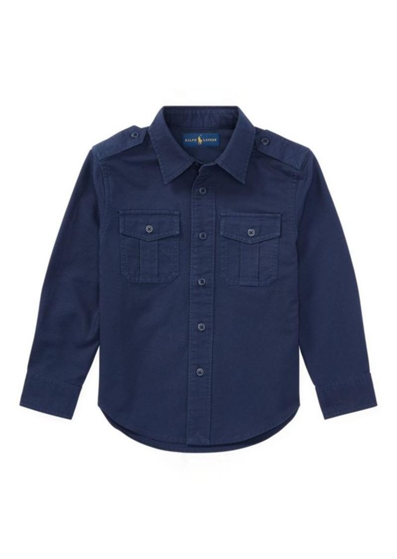 Ralph Lauren Embroidered Cotton Shirt